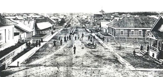 Село кува Общий вид 1980 год