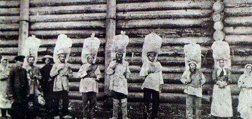 Коми-пермяки на солевых работах
