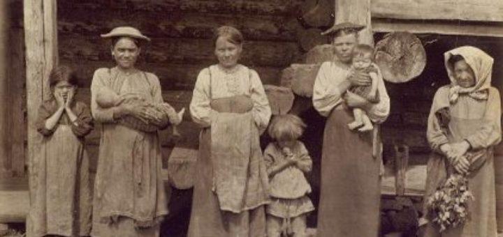 Женщины коми-пермяки. Начало 20 века.