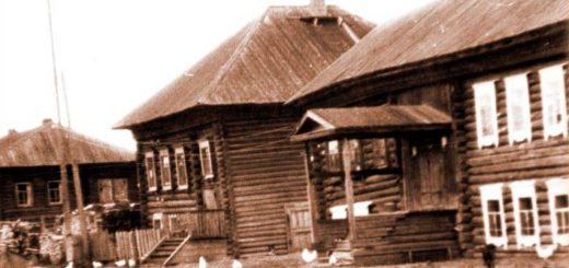 Дом коми-пермяка начало 20 века
