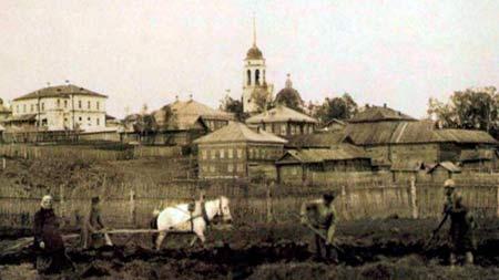 Коми-пермяки за работой начало 20 века