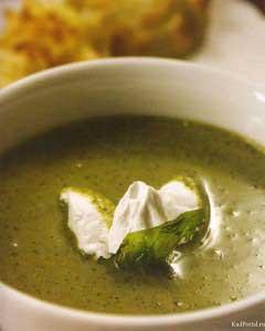 Крем-суп из сныти