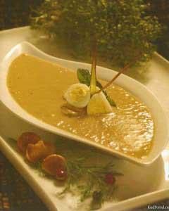 Суп-пюре из рябчика
