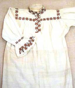 Рубаха женская - йӧрнӧс