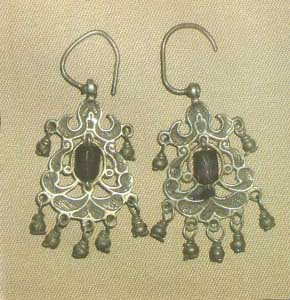 Серьги - пелькытш. 15 век