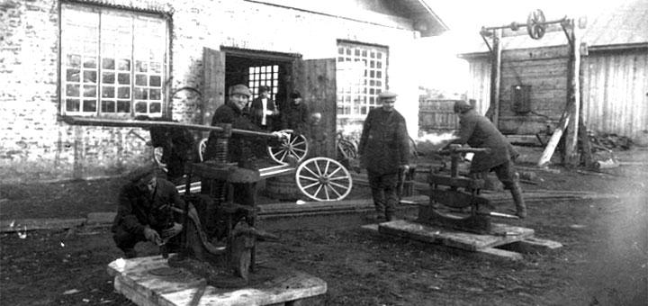 Старые фотографии коми-пермяцкого округа