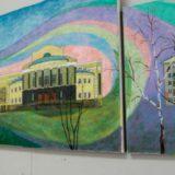 Картина художников урбанистов