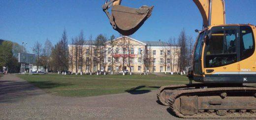 Кудымкар площадь реставрация