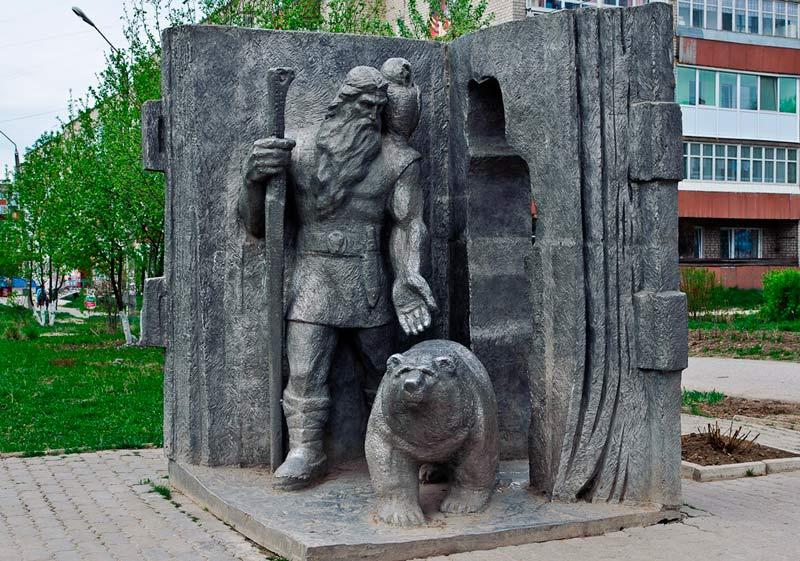 Памятник кудым ошу