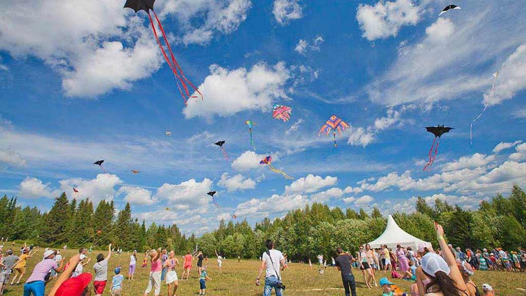 Камва - фестиваль воздушных змеев