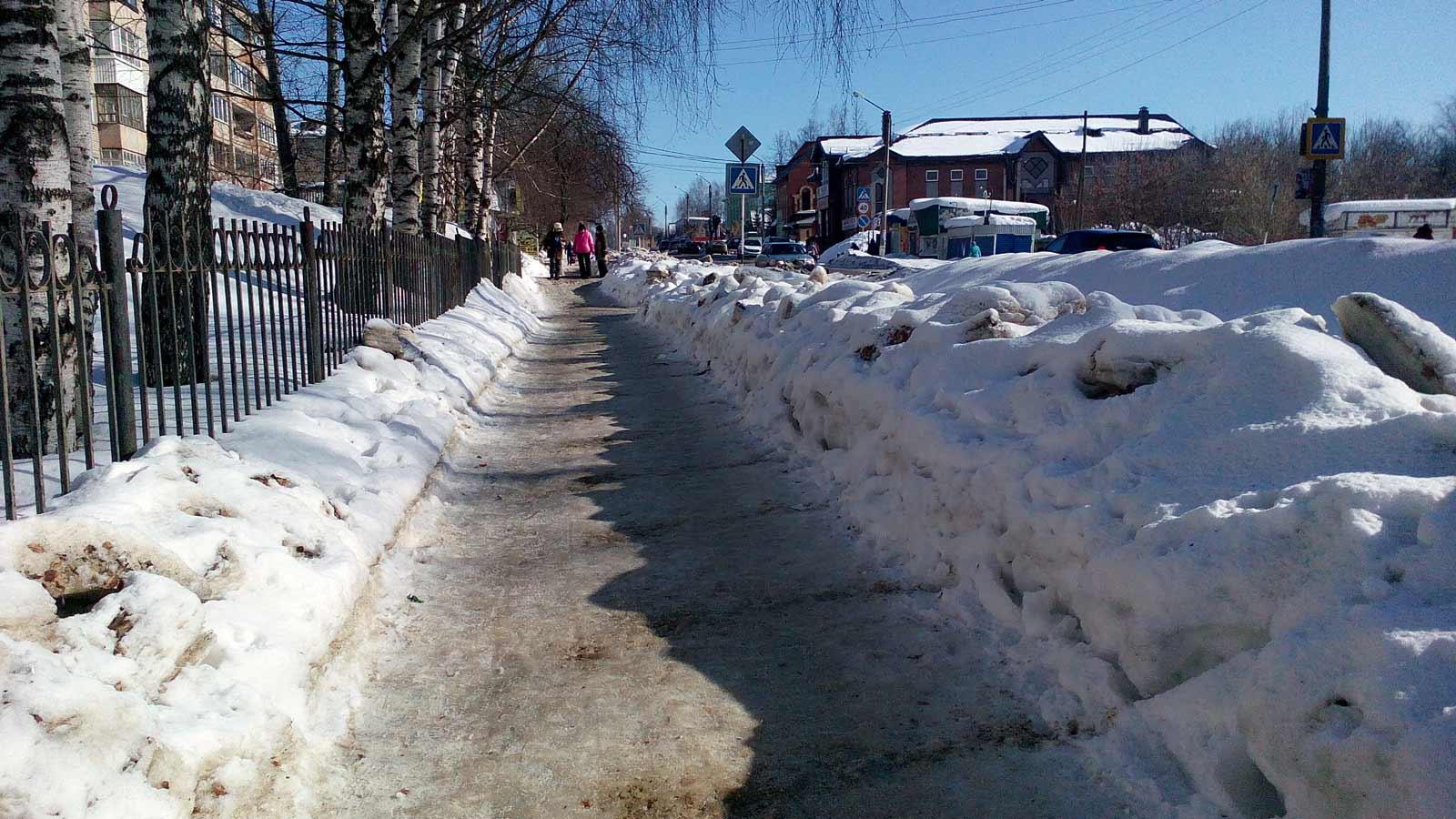 Общий вид улиц Кудымкара