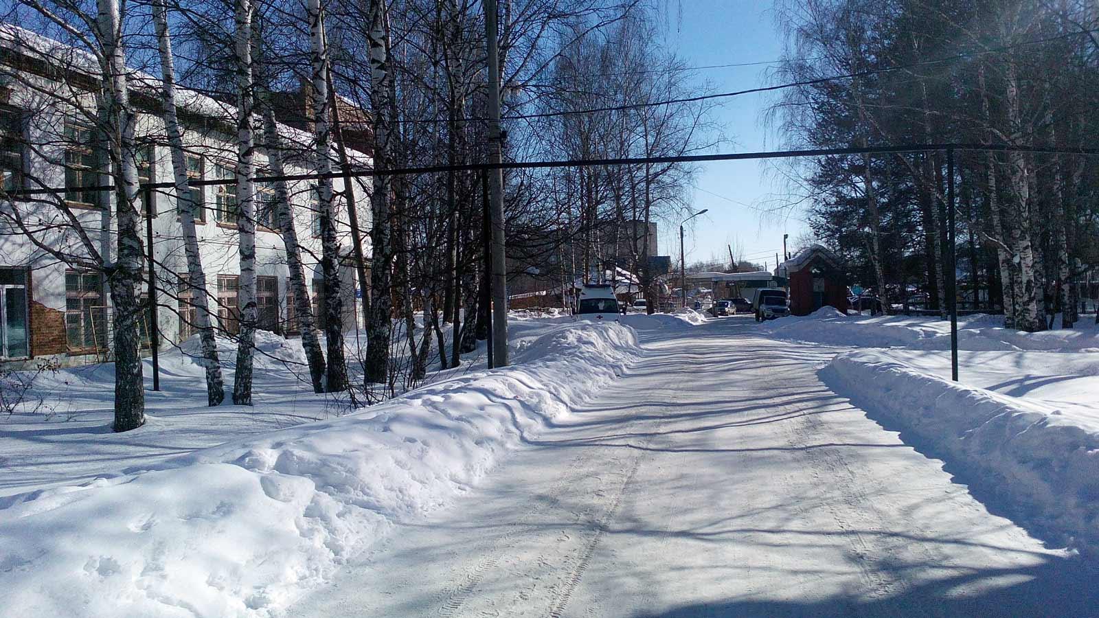 Больничный городок в кудымкаре