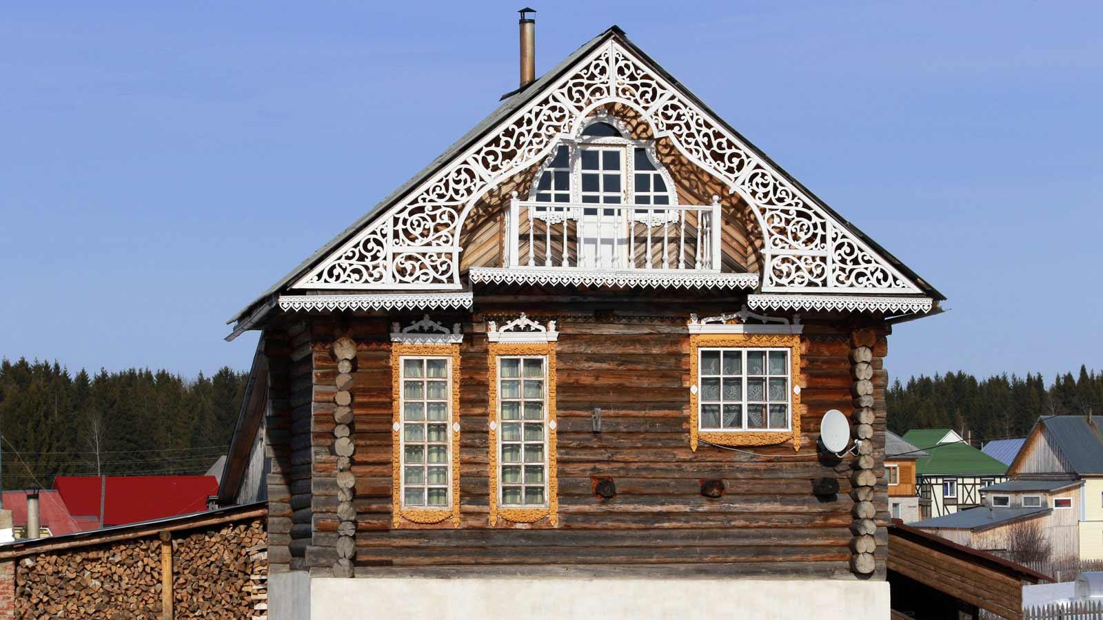 Узорчатый дом