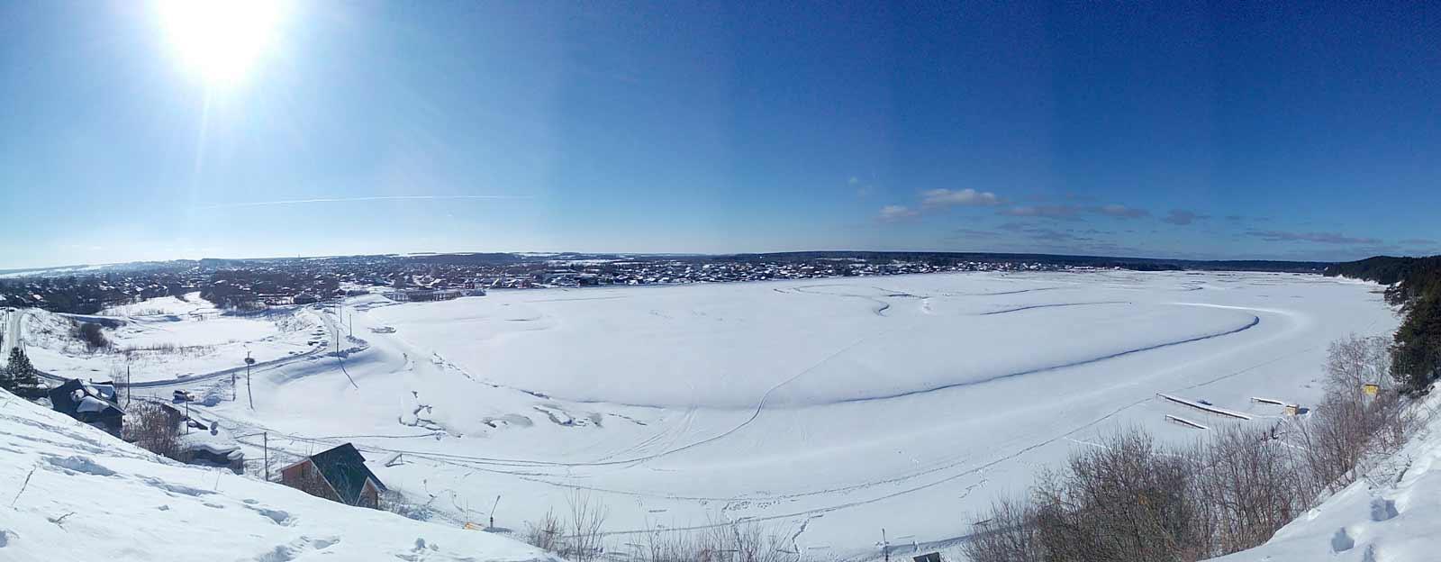 Панорама с красной горки (ИзъЮр)