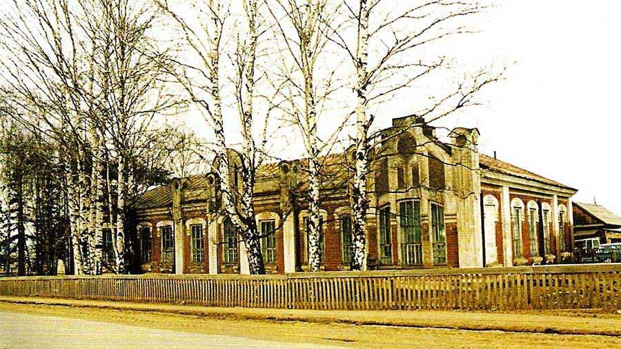Земская больница в селе Юрла