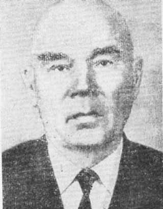 Первый председатель окружного комитета КПСС А.Ф. Караваев