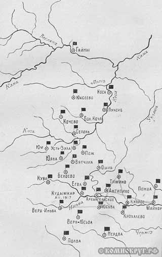Карта революционных восстаний