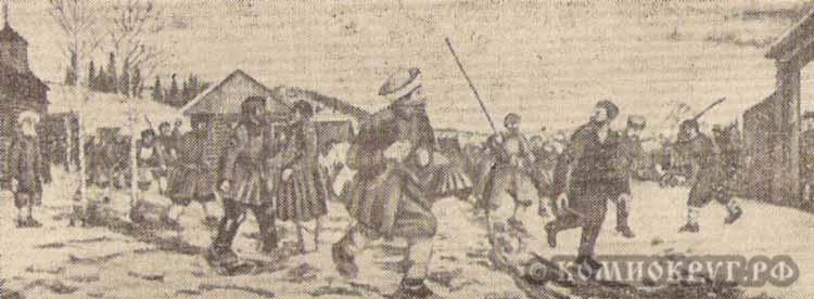 Кровавый бунт карта крохалева