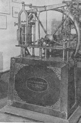 Модель паровой машины 1820 год