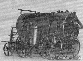 Модель паровоза Пермяк