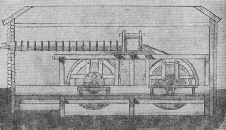 Рисунок пожвинской шлифовальной машины