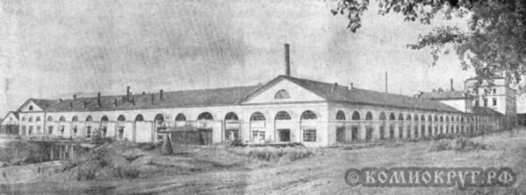Пожвинский завод общий вид