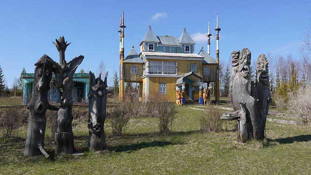 Дом деревянного зодчества