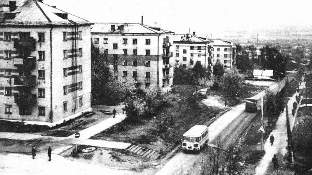 Улица Лиачева 1980г.